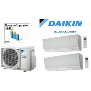 DUAL DAIKIN PERFERA FTXM  INVERTER  9000+9000 BTU GAS R32