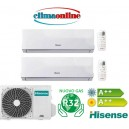 HISENSE NEW COMFORT GAS R32 9000+12000 BTU A++/A++