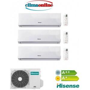 HISENSE COMFORT 7000+9000+12000 BTU A++/A+ GAS R32
