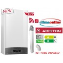 ARISTON CLAS ONE 35 KW NEW ERP CON KIT FUMI COASSIALE