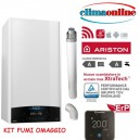 ARISTON GENUS ONE NET 24 KW NEW ERP CON KIT FUMI COASSIALE