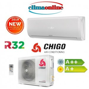CLIMATIZZATORE INVERTER 12000 BTU CHIGO SERIE AMBER GAS R32 A++/A+