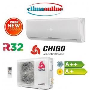 CLIMATIZZATORE INVERTER 9000 BTU CHIGO SERIE ANGEL 169/8 GAS R32 A++/A+