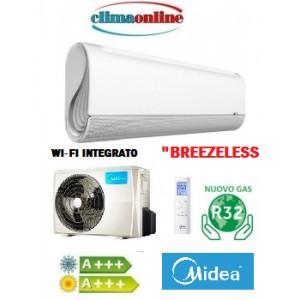 MIDEA BREEZELESS INVERTER 12000 BTU CLASSE A+++/A+++ WI-FI INTEGRATO