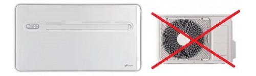 Climatizzatori senza unit esterna climaonline - Condizionatori inverter senza unita esterna ...